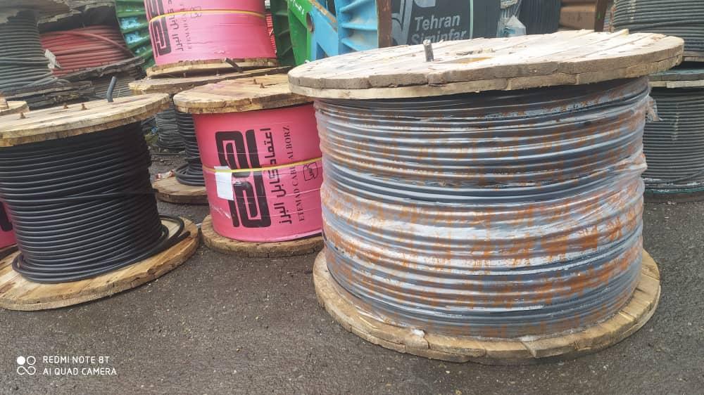 فروش انواع کابل های خود نگهدار در اردبیل